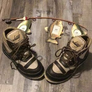 Lady Hodgman Fly Fishing Boots Felt Bottom size 7